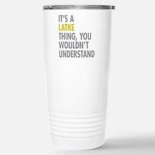 Its A Latke Thing Travel Mug