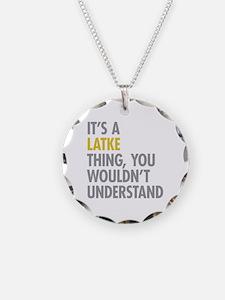Its A Latke Thing Necklace