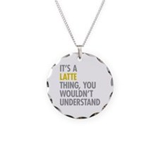 Its A Latte Thing Necklace