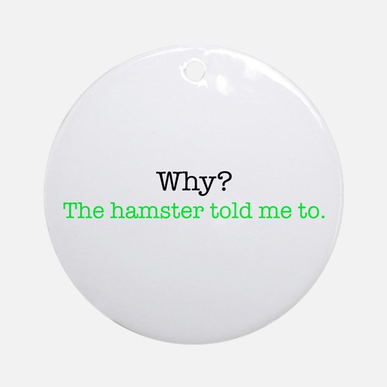 Why Matlab? Ornament (Round)