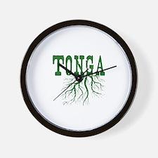 Tonga Roots Wall Clock