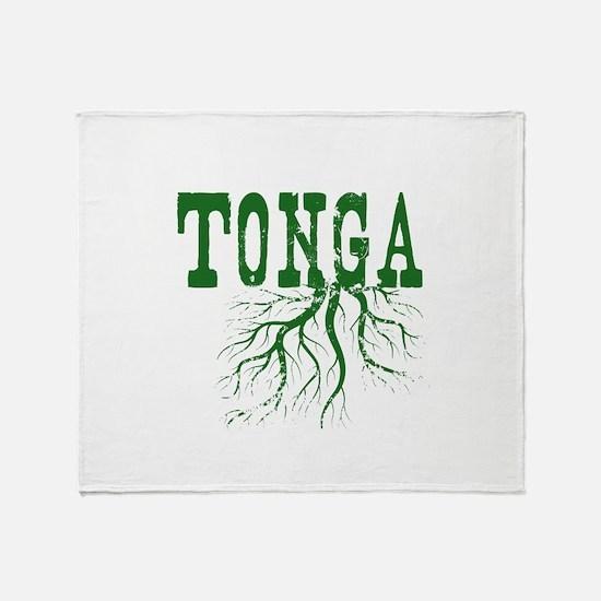 Tonga Roots Throw Blanket