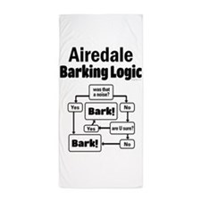 Airedale Logic Beach Towel