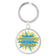 Attention Span Shiny Keychains