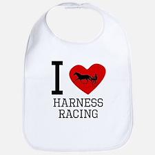 I Heart Harness Racing Bib