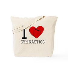 I Heart Gymnastics Tote Bag