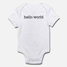 Hello World Infant Bodysuit