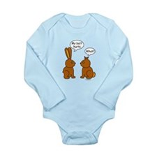 Funny Chocolate Bunnies Body Suit