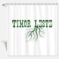 Timor Leste Roots Shower Curtain