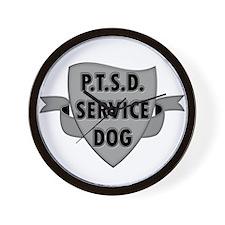 Service Dogs Wall Clock