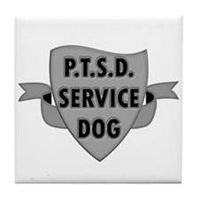 Service Dogs Tile Coaster