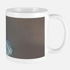 Worn Pointe Shoes On Top Of Ballet Tutu Outfit Mug