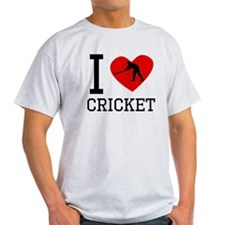 I Heart Cricket T-Shirt