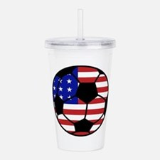 USA Soccer Acrylic Double-wall Tumbler
