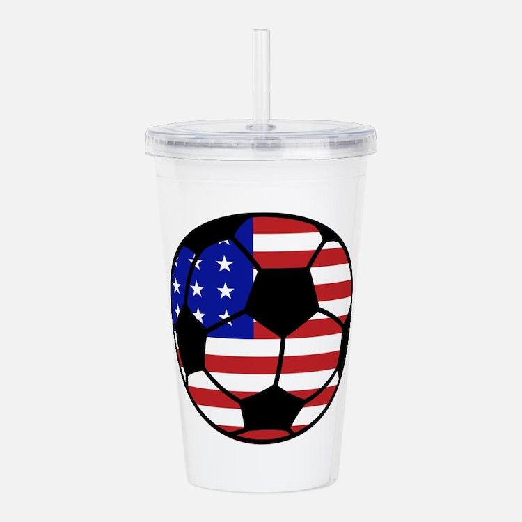 USA Soccer Acrylic Double-wall Tumbler