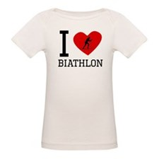 I Heart Biathlon T-Shirt