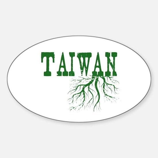 Taiwan Roots Sticker (Oval)