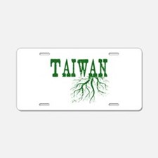 Taiwan Roots Aluminum License Plate