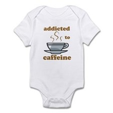 Addicted To Caffeine Infant Bodysuit