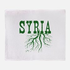Syria Roots Throw Blanket