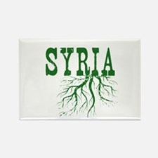 Syria Roots Rectangle Magnet