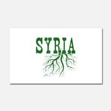 Syria Roots Car Magnet 20 x 12