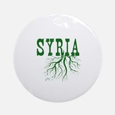 Syria Roots Ornament (Round)