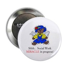 Girl Bear SW Miracle Button