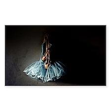 Dark Ballet Tutu Outfit with Worn Pointe S Decal