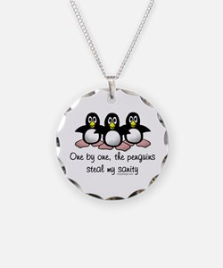 One by one the penguins Necklace