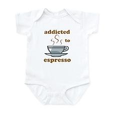 Addicted To Espresso Infant Bodysuit