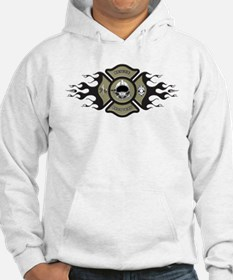 RESCUE RECOVERY FLAMES Hoodie