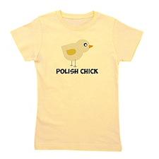 Polish Chick Girl's Tee