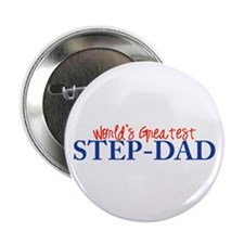 "World's Greatest Step-Dad II 2.25"" Button (100 pac"