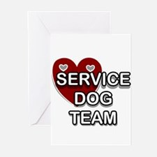 Service Dogs Greeting Cards