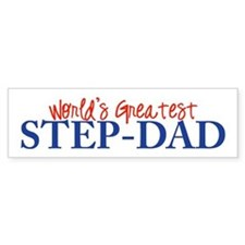 World's Greatest Step-Dad II Bumper Bumper Sticker