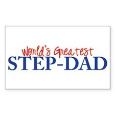 World's Greatest Step-Dad II Rectangle Decal