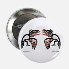 "Eagle-Raven Shine 2.25"" Button (10 pack)"