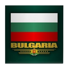 Flag of Bulgaria Tile Coaster