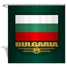 Flag of Bulgaria Shower Curtain
