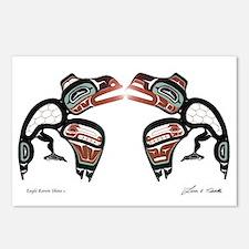 Eagle-Raven Shine Postcards (Package of 8)