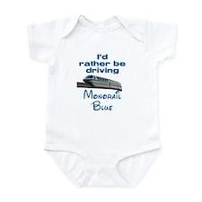 Monorail Blue Infant Bodysuit