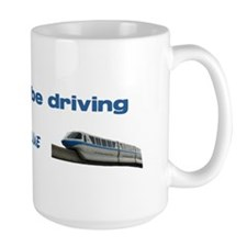 Monorail Blue Mug