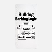 Bulldog Logic Beach Towel
