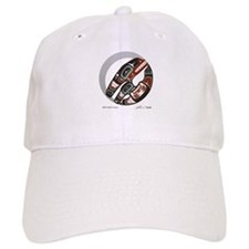 Killer Whale Crescent Baseball Cap