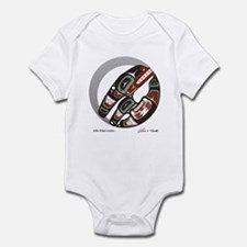 Killer Whale Crescent Infant Bodysuit