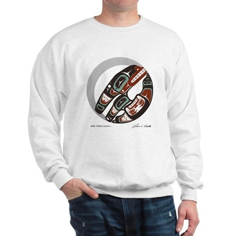Killer Whale Crescent Sweatshirt