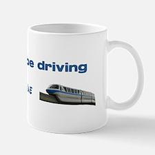 Monorail Blue Mug