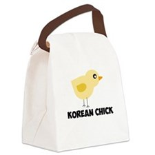 Korean Chick Canvas Lunch Bag