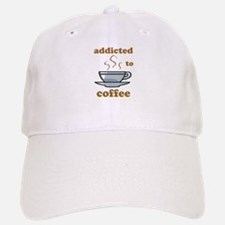 Addicted To Coffee Baseball Baseball Cap